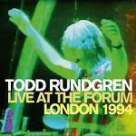 RUNDGREN TODD - Live At The Forum London 1994 (Remastered 2 CD)