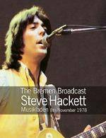 HACKETT STEVE - The Bremen Broadcast ~ Musikladen 8th November 1978 (DVD)